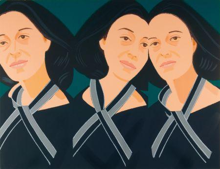 Serigrafía Katz - Grey Ribbon