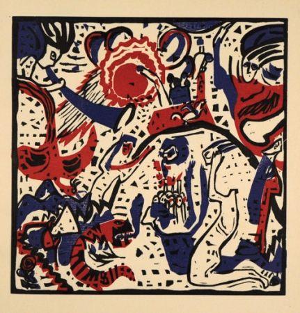 Grabado En Madera Kandinsky - Grosse Auferstehung