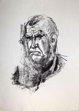 Litografía Dix - Grosses Selbstbildnis / Large Self-Portrait