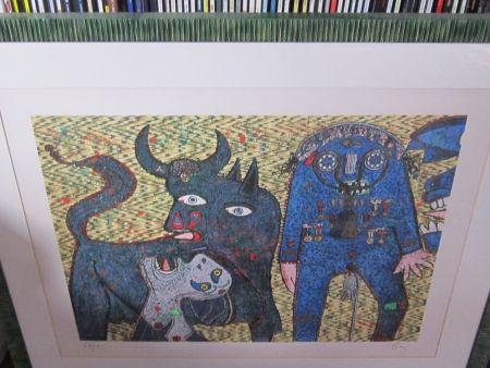 Serigrafía Baj - Guernica