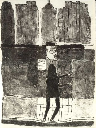 Libro Ilustrado Dubuffet - GUILLEVIC (Eugène). Les Murs.