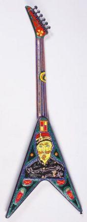 Múltiple Combas - Guitare - hommage à Van Gogh
