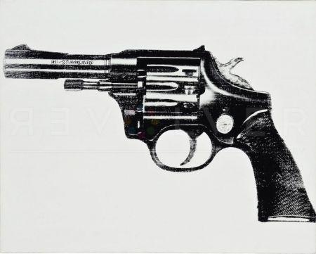 Serigrafía Warhol - Gun
