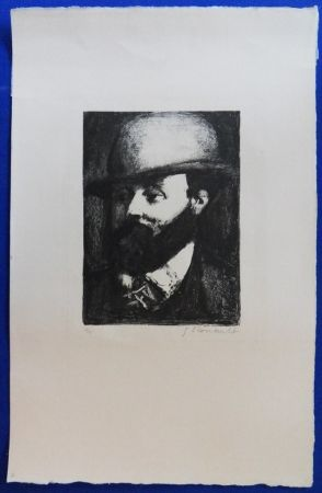 Litografía Rouault - Gustave Moreau