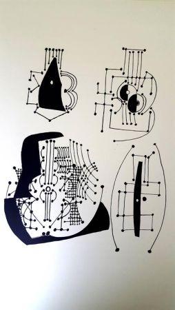Litografía Picasso - Hélène chez Archimède