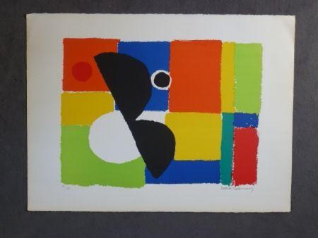 Litografía Delaunay - Hélice noire