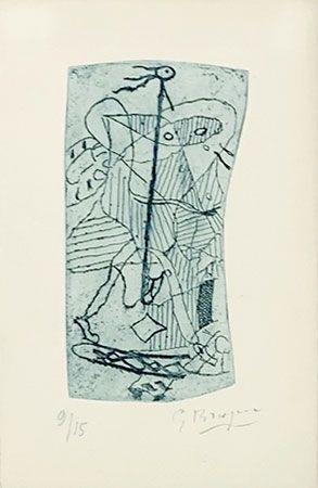 Grabado Braque - Héraclite d'Ephèse