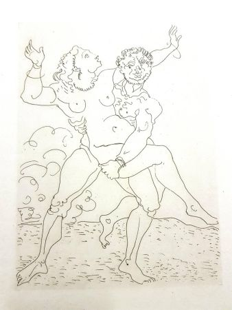 Grabado Derain - Héroïde