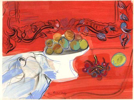 Libro Ilustrado Dufy - Héron de Villefosse : EAUX DE VIE (12 pochoirs de Raoul Dufy) 1952