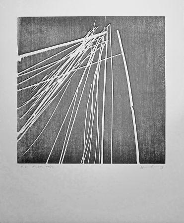 Grabado En Madera Hartung - H 1973-21
