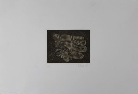 Manera Negra Ebert - Handschuh / Glove