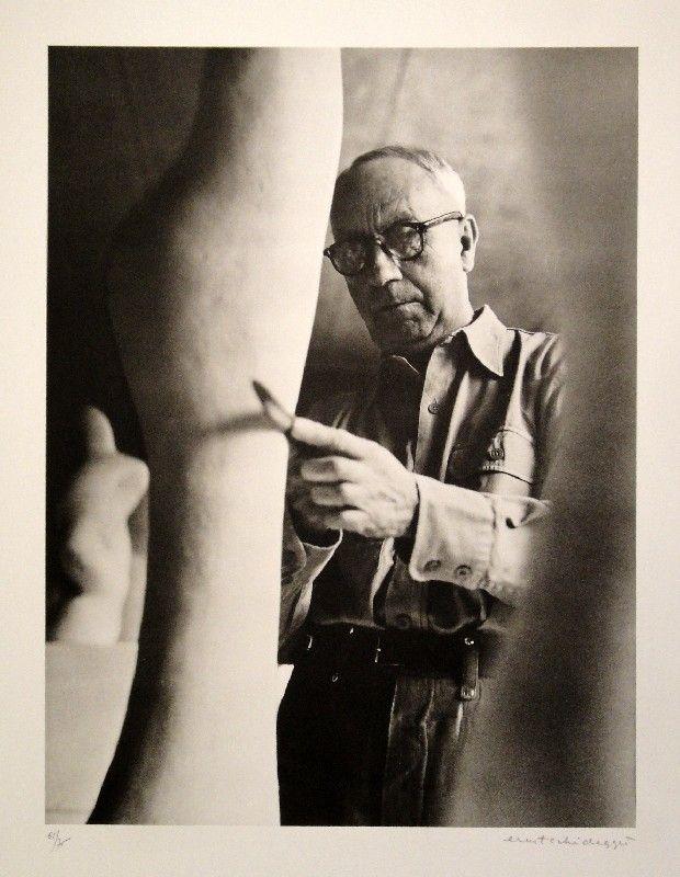 Fotografía Scheidegger - Hans Arp