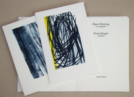 Libro Ilustrado Hartung - Hans Hartung 6 Lithografien & Ernst Jünger Gedanken