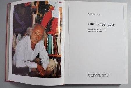 Libro Ilustrado Grieshaber - Hap Grieshaber Ausstellungskatalog 1991