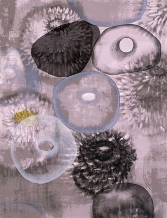 Serigrafía Bleckner - Happiness For Instance I