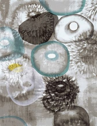 Serigrafía Bleckner - Happiness For Instance II