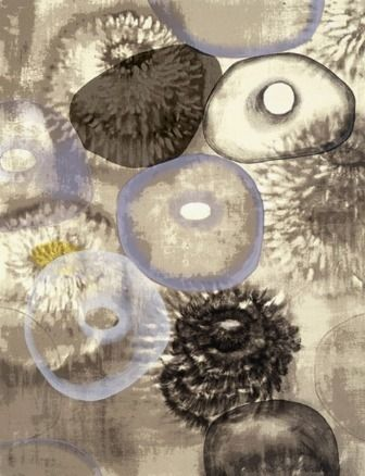 Serigrafía Bleckner - Happiness For Instance III