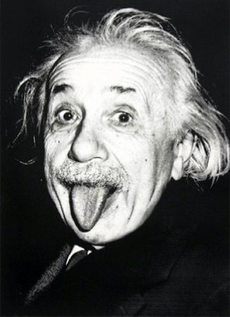 Serigrafía Mr Brainwash - Happy birthday Einstein