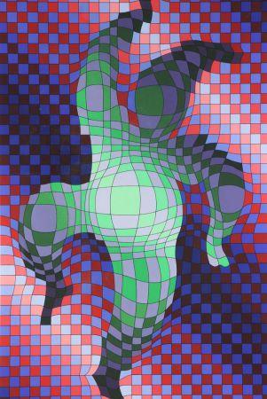 Múltiple Vasarely - Harlequin