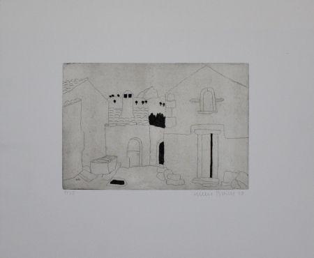 Grabado Breiter - Hausfassade