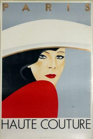 Litografía Razzia - Haute Couture  Paris