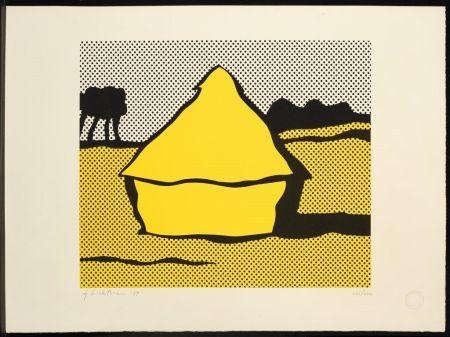 Serigrafía Lichtenstein - Haystack