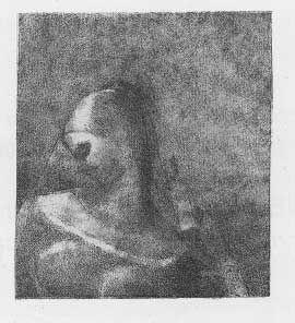 Litografía Redon - Helene (Ennoia)
