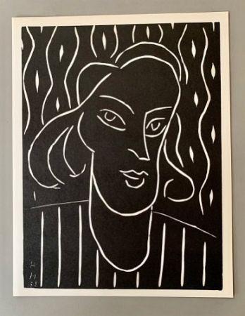 Linograbado Matisse - Henri Matisse -'Linocut' 'Teeny' 1938