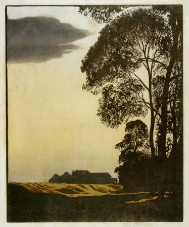 Grabado En Madera Frank - Herbstnachmittag (Afternoon in autumn)