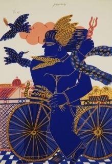 Serigrafía Fassianos - Hermes