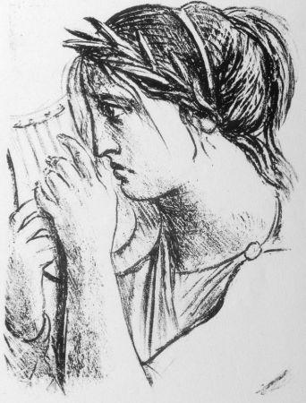 Litografía Messina - Hermione Oresti
