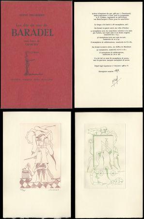 Libro Ilustrado Camacho  - Hervé Delabare : Les dits du sire de BARADEL. Eaux-fortes de Camacho (1968).