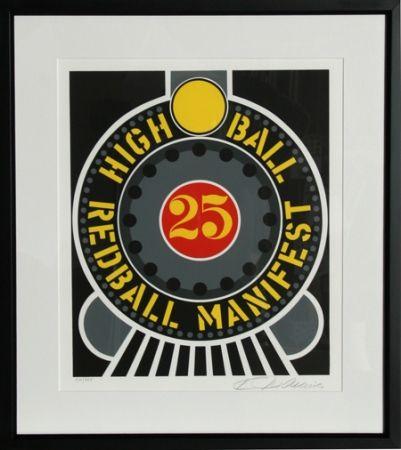 Serigrafía Indiana - High Ball Redball Manifest