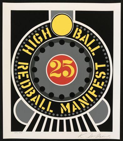Serigrafía Indiana - Highball on Redball Manifest