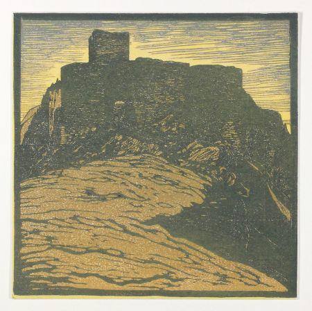 Grabado En Madera Henneberg - Hinterhaus
