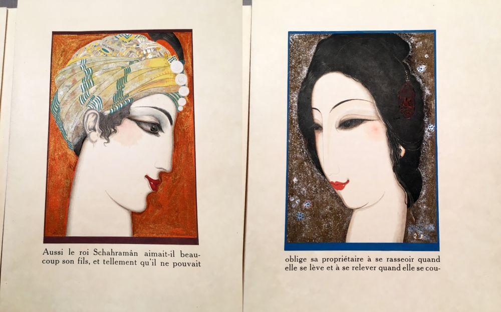 Libro Ilustrado Schmied - HISTOIRE DE LA PRINCESSE BOUDOUR. Conte des mille et une nuits. (1926)