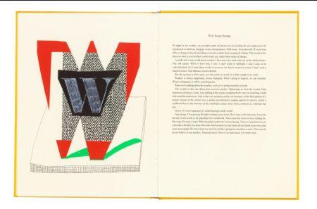 Múltiple Hockney - Hockney's Alphabet. 1991. Signed.