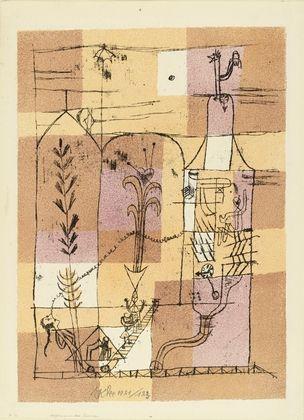Litografía Klee - Hoffmanneske Szene