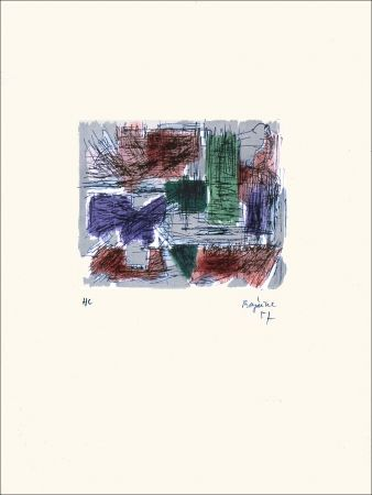 Litografía Bazaine - Hollande III