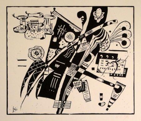 Grabado En Madera Kandinsky - (Holzschnitt um 1935)
