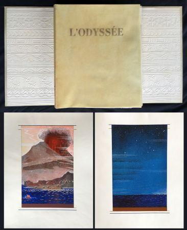Libro Ilustrado Schmied - HOMÈRE : L'ODYSSÉE (1930-1933). L'exemplaire du traducteur de référence.