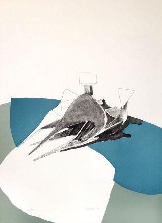 Litografía Chadwick - Homage to Picasso