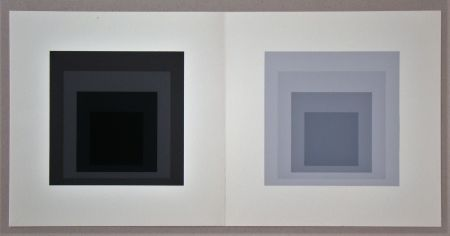 Serigrafía Albers - Homage to the Square