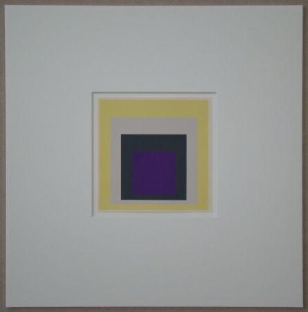 Serigrafía Albers - Homage to the Square - Dedicated