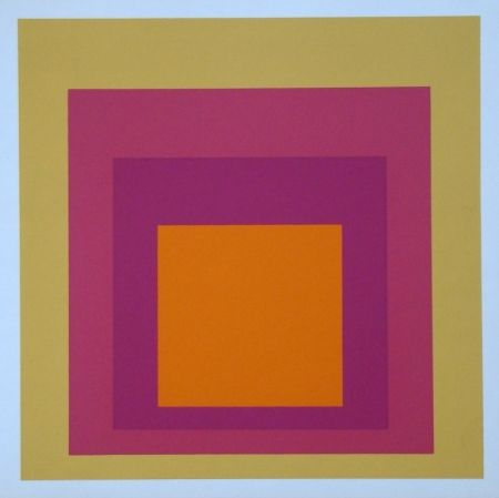 Serigrafía Albers - Homage to the Square - La Tehuana, 1951-1956