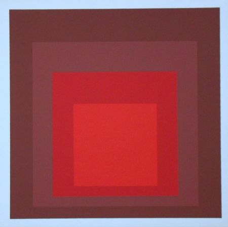 Serigrafía Albers - Homage To The Square - R-I D-5, 1969