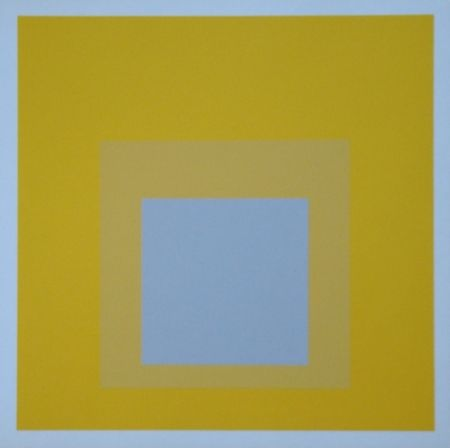Serigrafía Albers - Homage to the Square - Selected, 1959