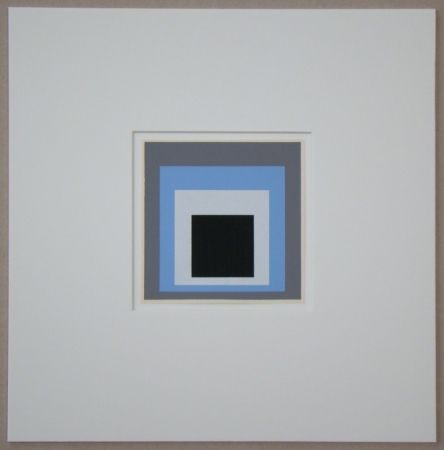 Serigrafía Albers - Homage to the Square - Unconditioned
