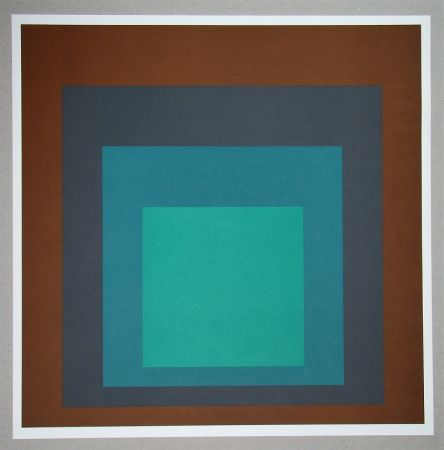 Serigrafía Albers - Homage to the Square SP-1