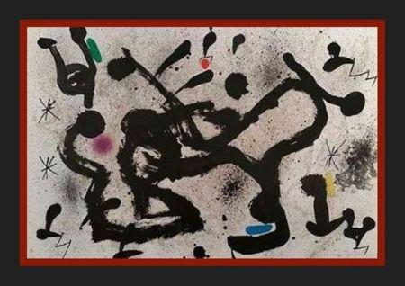 Litografía Miró -